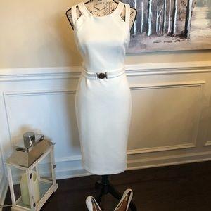 Guess white dress size 12